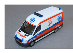 Modellauto Rettungswagen