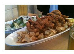 the frypan fried chicken and beer