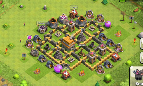 Clash of Clans Rathaus Level 6 Mappen – Aarachne.at